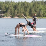 SUP lesson Penioche sup school