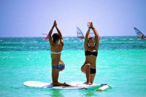 SUP Yoga Peniche Surfmyday